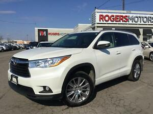 2014 Toyota Highlander XLE AWD V6 - NAVI - 8 PASS - LEATHER