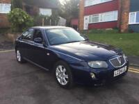 ROVER 75 2.0 CD CONNIESOR MANUAL HPI CLEAR FULL SERVICE HISTORY