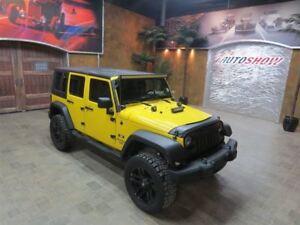 2008 Jeep WRANGLER UNLIMITED ** CUSTOM UNLIMITED X **