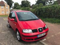 2005 Seat Alhambra 1.9 TDI PD Stylance 5dr Manual @07445775115@