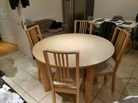 Kitchen / dinning table and chairs