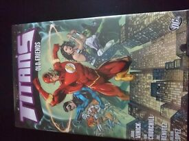 Titans old friends hardback graphoc novel. Brand new RRP 16.99