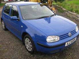 2001 MARK 4 GOLF VERY CLEAN CAR CHEAP *price drop* £695