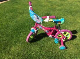 Dora girls bike