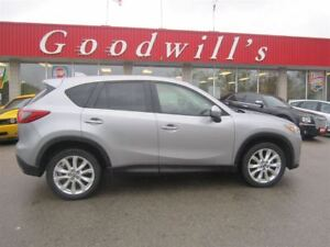 2014 Mazda CX-5 GT! HEATED LEATHER SEATS! SUNROOF!