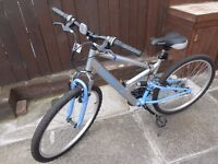 LADIES MOUNTAIN BIKE - AS NEW - 26 INCH WHEELS (LISTED TIL SOLD)
