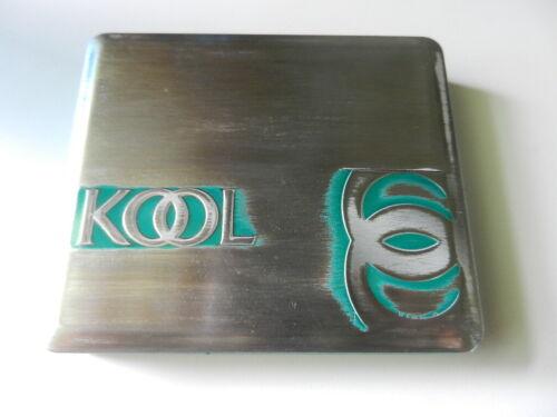 Kool Cigarette Tin 25 king size  Empty