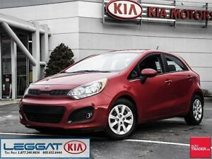 2013 Kia Rio LX+ - No Accident, Manual, VERY Low KM, Heated Sea