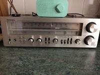 Technics sa 500 tuner/amplifier and Bose 4.2 speakers