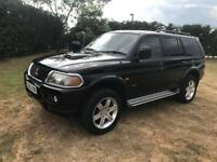 Mitsubishi Shogun Sport 2.5D Warrior Black