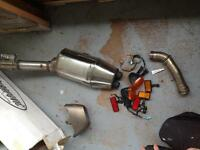 Exhaust system sport bikes for sale