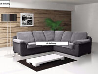 BRAND NEW AMY SOFA COLLECTION**3+2 SETS**CORNER SOFAS**CORD FABRIC OR ITALIAN LEATHER
