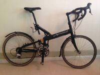 Airnimal Cameleon folding bicycle, including carry case and other extras