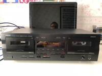 yamaha KX-W321 twin cassette daeck