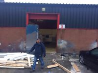 A SPACIOUS DOUBLE BUSINESS UNIT IN SMETHWICK AREA, SHORT/LONG LEASE.