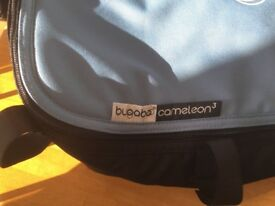 Bugaboo Cameleon 3 Carry Cot with blue cover