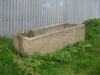 Old Water Troughs.