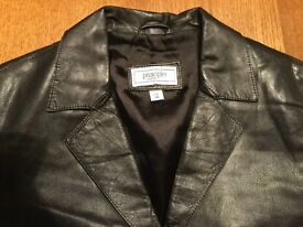 Leather jacket by Principles. Petite size 10. Black. Great condition.