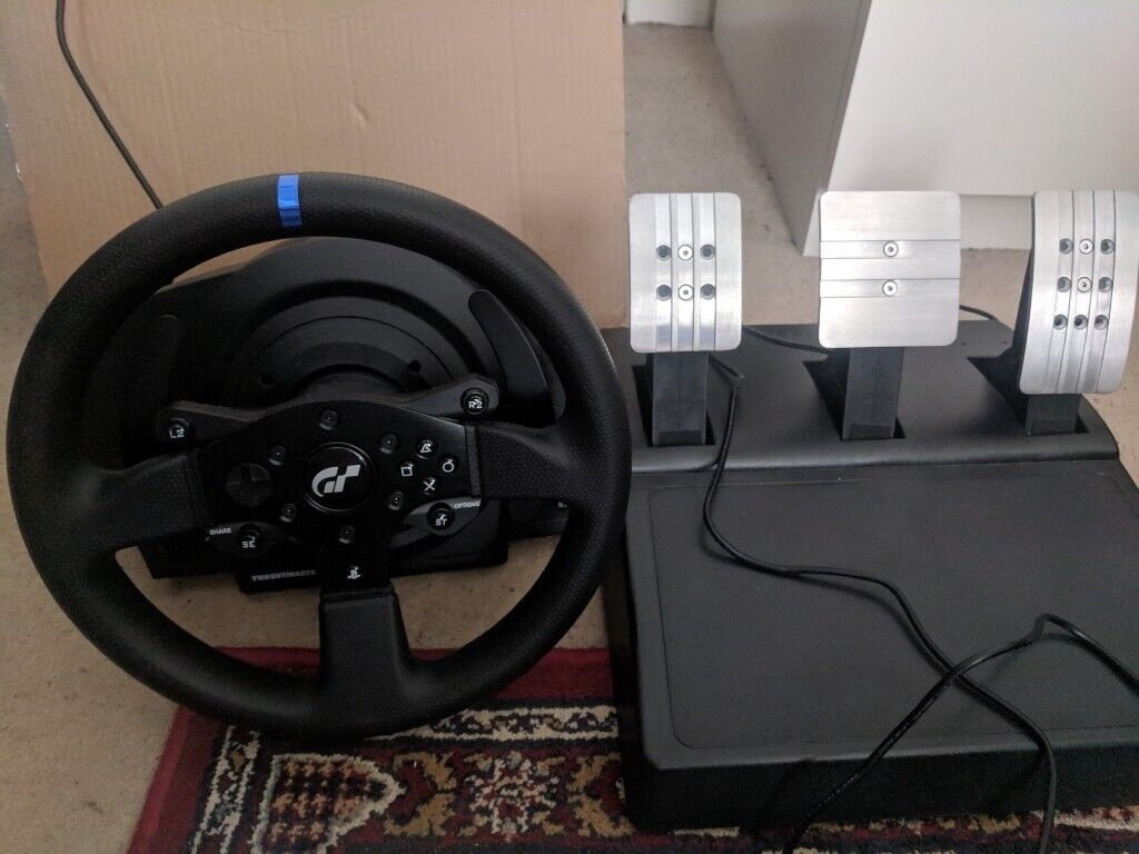 fa971acf344 BOXED Thrustmaster T300RS GT Edition Steering Wheel and Pedals PC/PS4