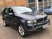 2004 BMW X5 3.0 D SPORT ESTATE NEWER SHAPE DIESEL AUTOMATIC 4X4 JEEP GOOD DRIVE MOT N ML LAND ROVER