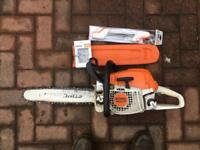 Stihl Chainsaw. MS271 Good condition. New chain and Stihl sharpening tool