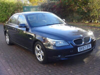 BMW 5 SERIES 2.0 520D SE 4d 175 BHP LEATHER TRIM ++ 2 PREVIOUS KEEPER FULL SERVICE RECORD