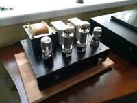 Valve amplifier audiophile EL34