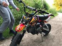 125cc ThumpStar pitbike