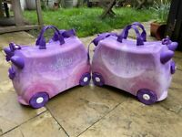 Melissa & Doug Trunki Swirl (Purple/Pink) Kids Luggage