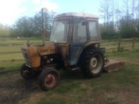FORD 333 DIESEL TRACTOR WITH VOTEX CUTTER 2350ono