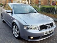 audi a4 1.9 tdi sport s line 130 bhp 6 speed manual 2004 full service history excellent condition