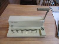 Comb Binder Machine and Combs for the Small Office