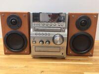 AIWA XR-EM70 CD Stereo System Good Condition