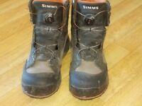 SIMMS WADING BOOTS UK size 9(43) BOA technology