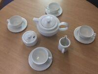 Full Art Deco Style Tea Set - Serves 4 Brand New unused