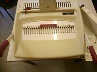 5 Star Comb binding machine