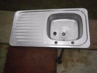Stainless Steel Sink with RH drainer