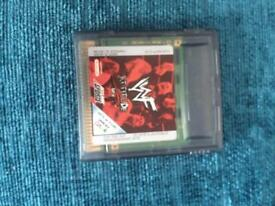 WWE gameboy game.