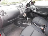 Nissan Micra 1.2 Acenta 5dr CVT (shiraz red) 2011