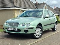 2001 Rover 45 AUTO***45,000 miles***1 lady owner