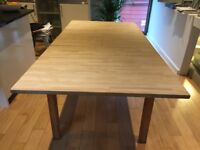 Ikea Dining Table 2m (or 1m55cm) x 1m wide