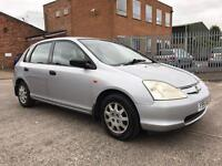 Honda Civic 1.4i S 5 Door Hatchback (12 Months MOT)