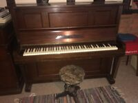 PIANO FOR SALE with adjustable height stool