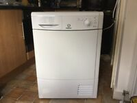 GOOD AS NEW CONDENSER TUMBLE DRYER (only 8months old ) cost £260 when bought