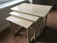 REDUCED for QUICK Sale! Nest of Tables Side Tables Oak