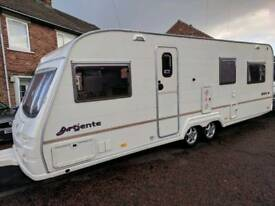2004 Avondale Argente 650-6 Twin Axle Touring Caravan with Awning & Extras!