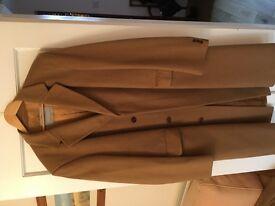 Mens Aquascutum Full Length Overcoat. 100% Pure Cashmere. 44