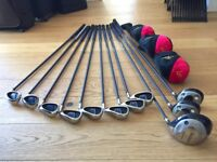 Almost new MacGregor DX graphite shaft, Powersole High Performance golf set
