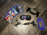 Ps vita boxed with 6 games etc
