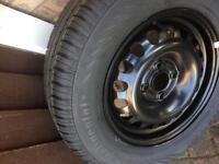 Vauxhall corsa wheel & tyre brand new
